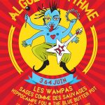 Algues au Rythme - Festival Art de la rue et musique - affiche 2017
